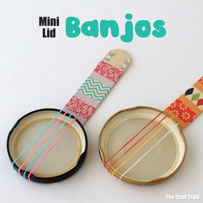 Mini craft banjos