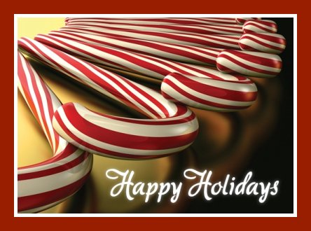 candy cane happy holiday