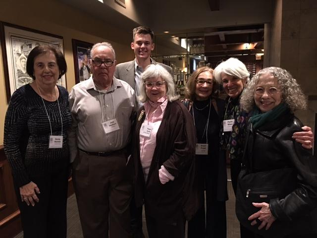 Sandy & Jack Herman, Regen Burke, Ariani Friedl, PhyllisMitzen, Judy Karlov and Sam Hobart
