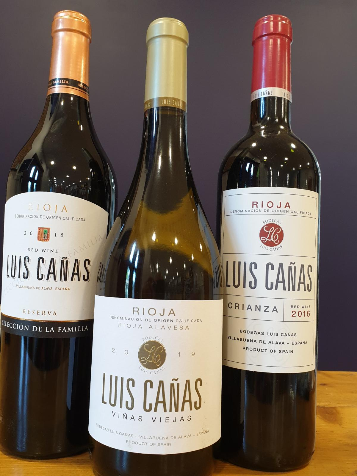 Luis Canas wines