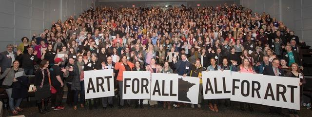 photo from arts advocacy day