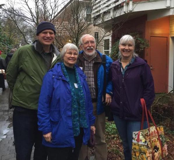 Tour of Jackson Place with Skagit Cohousing friends
