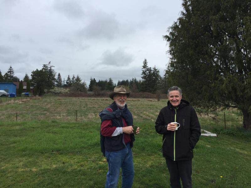 Visiting the Skagit Cohousing site