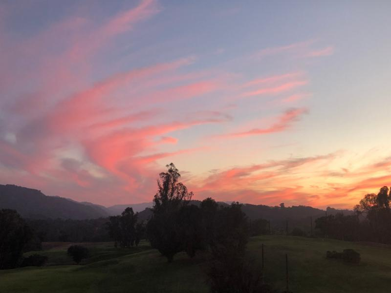 Ojai sunset