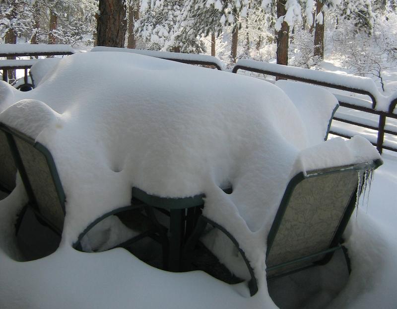 Snowy deck 2