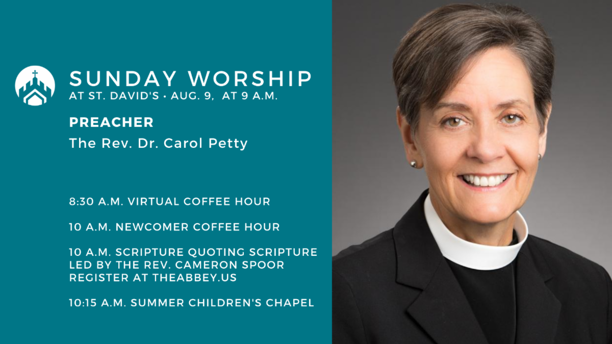 Invite a friend to join us for Sunday worship