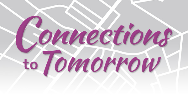 Connections to Tomorrow header graphic