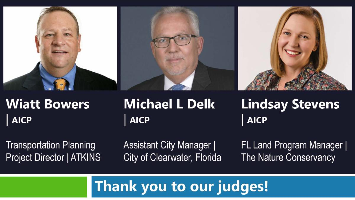 Thank you to our judges