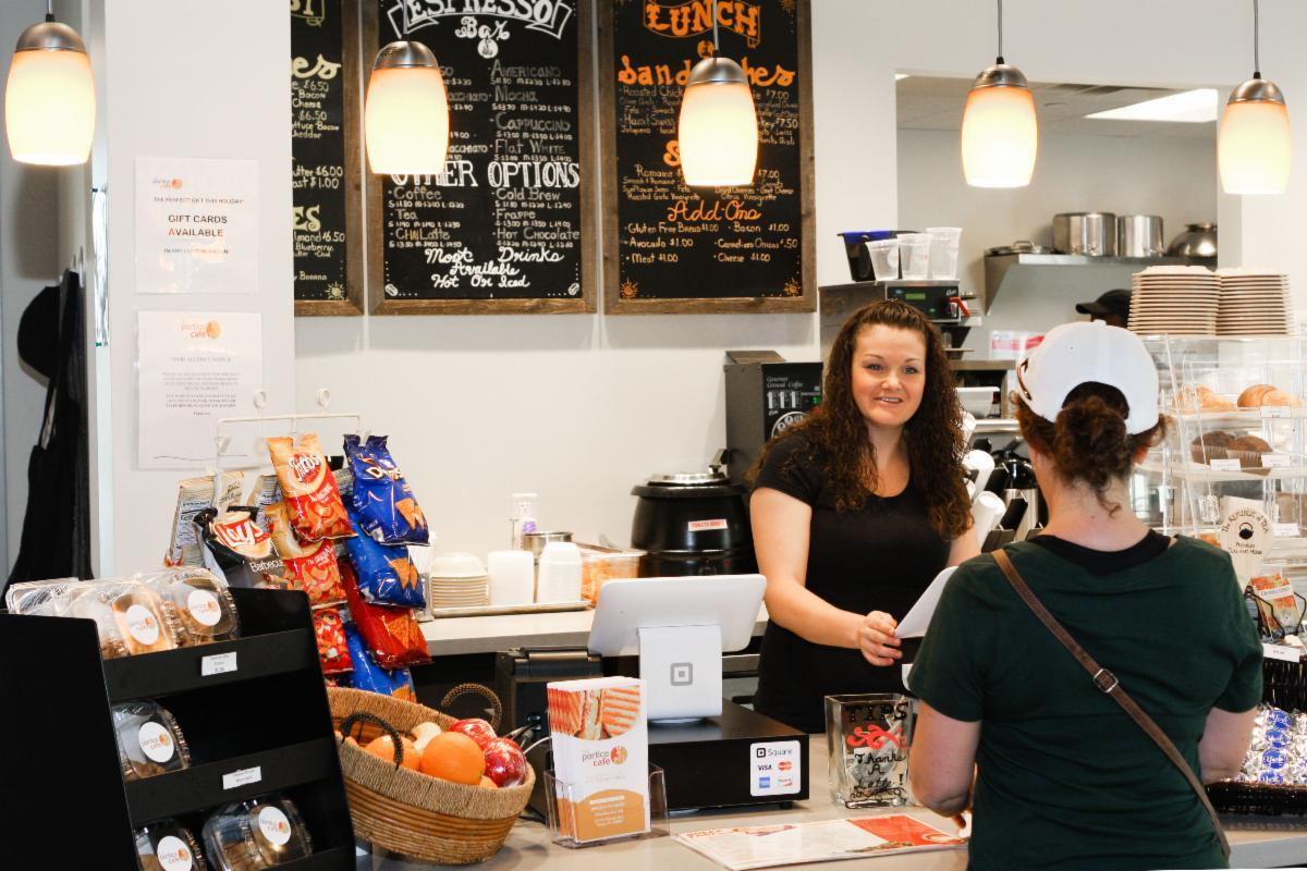 The Portico cafe