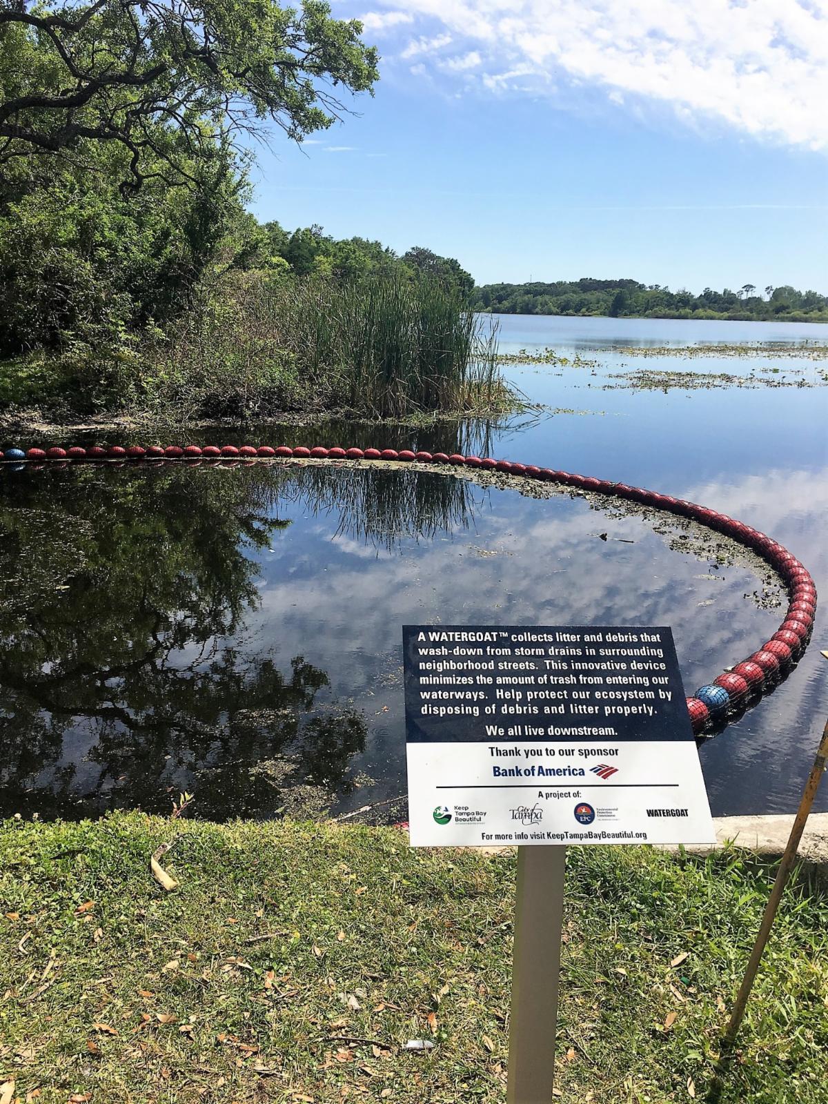 Keep Tampa Bay Beautiful WaterGoat