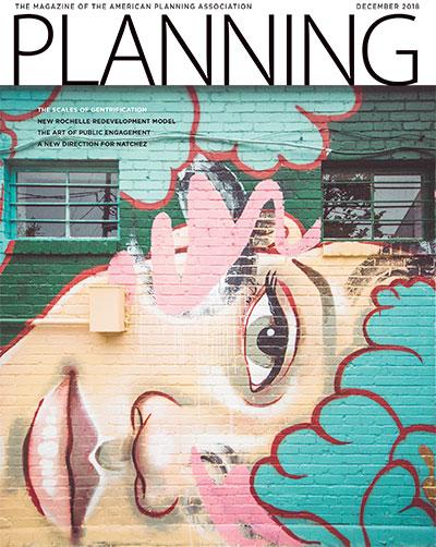 December 2018 Planning Magazine cover