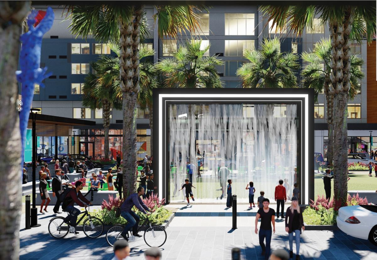 Midtown  Tampa rendering