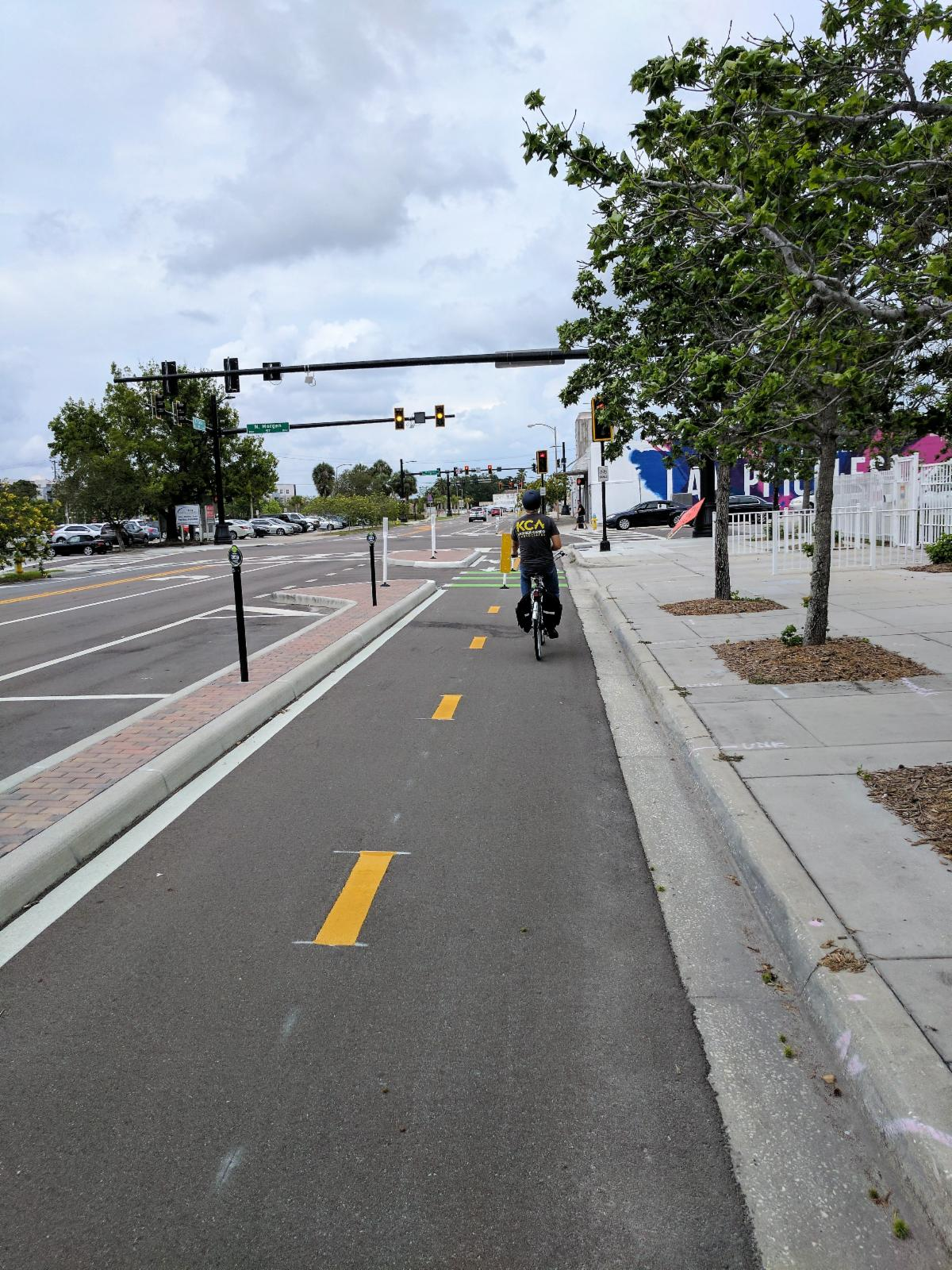 Green Spine Cycle Track Design