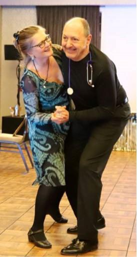 Gina Carena & Jim Corsones DWTS 2018