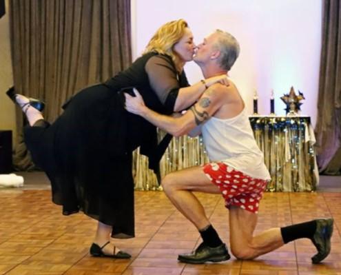 Nadine Ferraro & Tim Hurley DWTS 2018