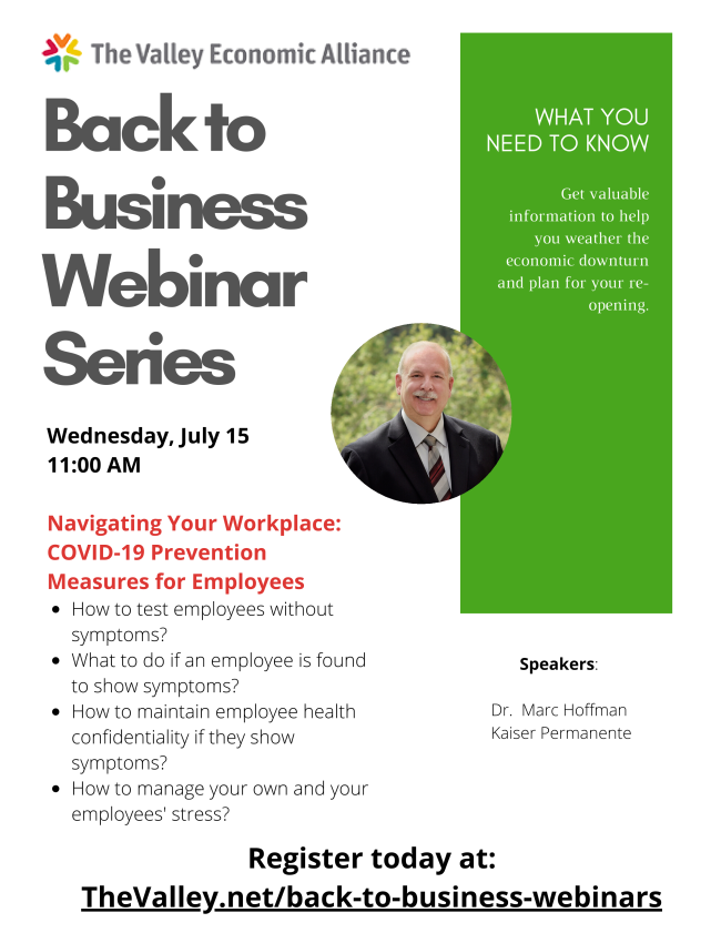 July 13th information to help you and your business get ...