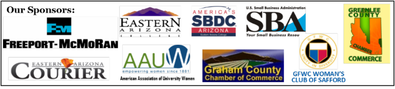 Our sponsors for the 2016 Gila Valley Small Business Woman of the Year Awards