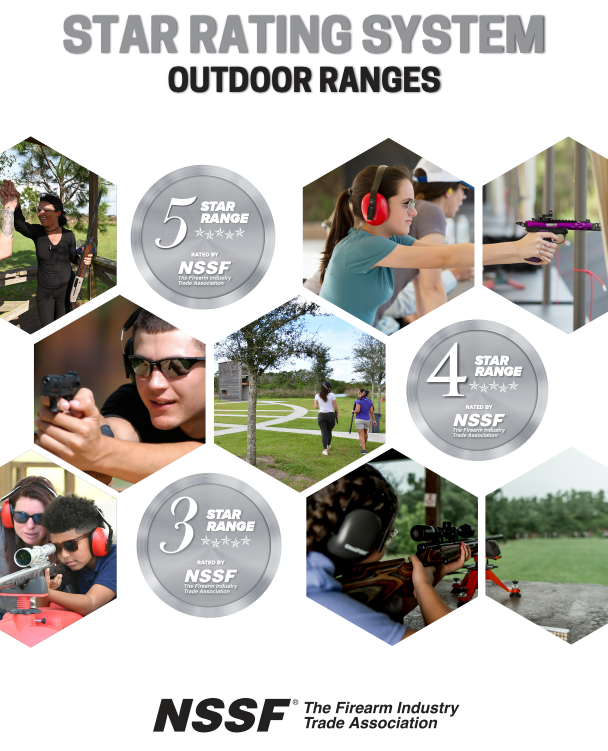 Outdoor Ranges Star Rating System