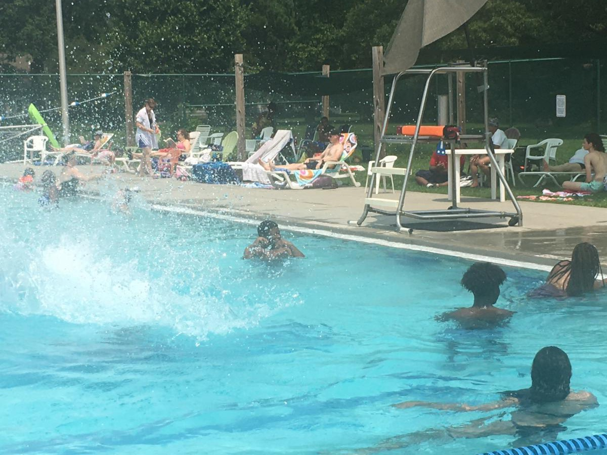 Swimming at Rutherford Pool each Tuesday