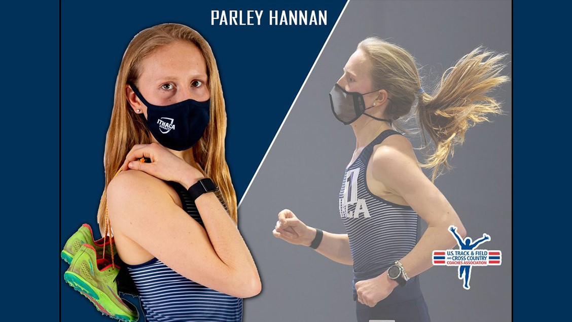 Graphic that shows two images of Parley Hannan.