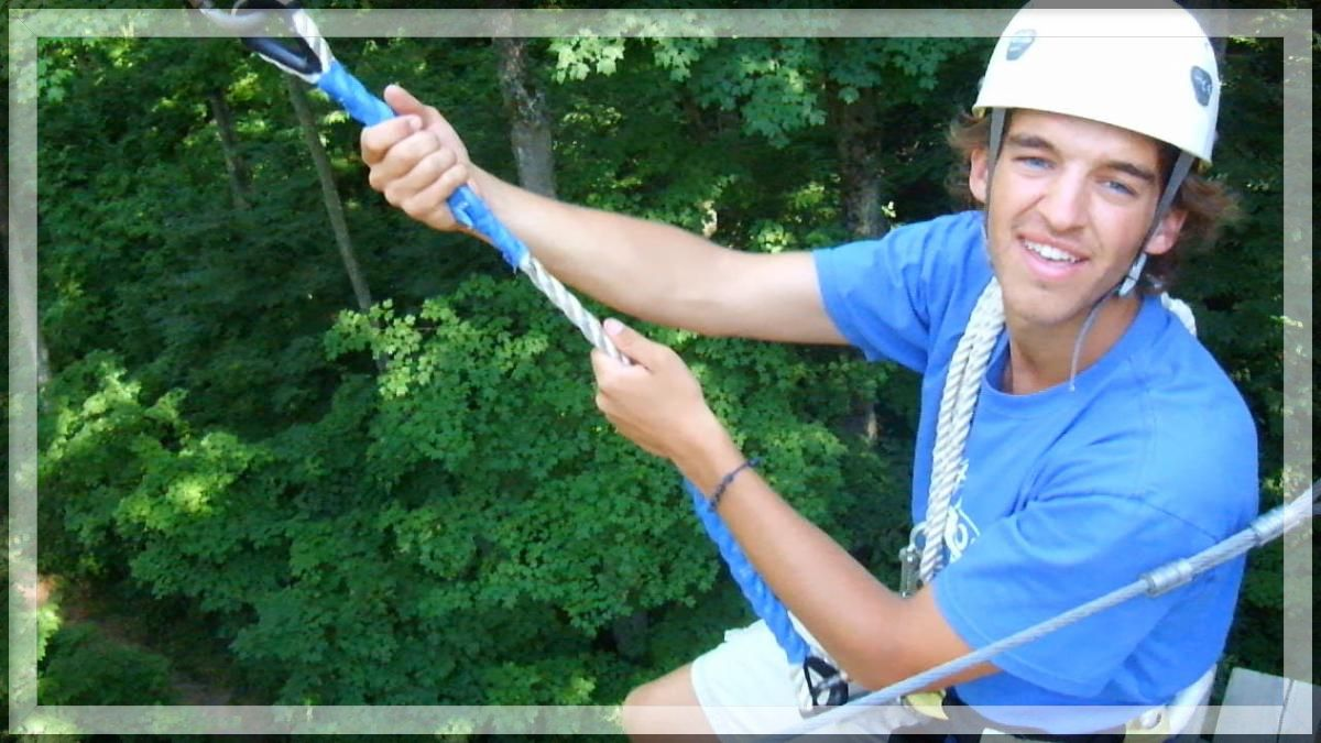 CSM Campers Reach New Heights with our Zip Line