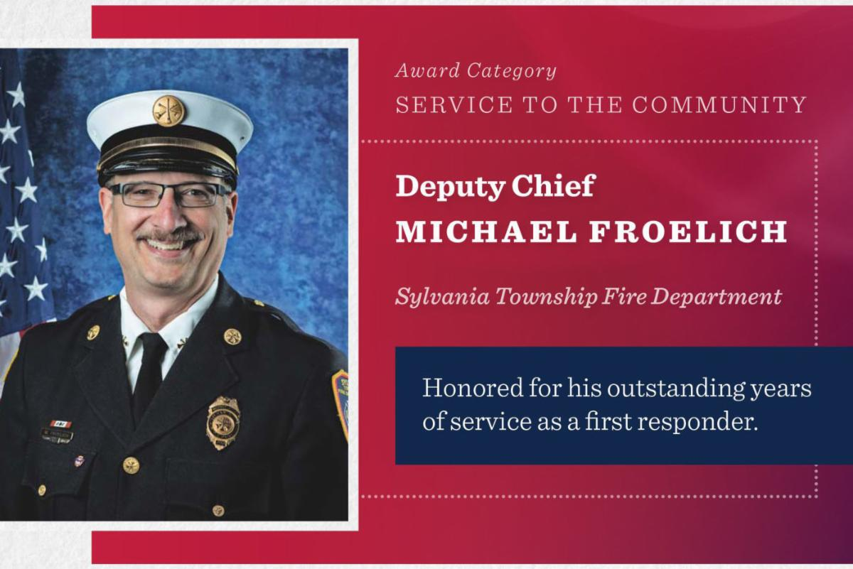 Deputy Chief Mike Froelich