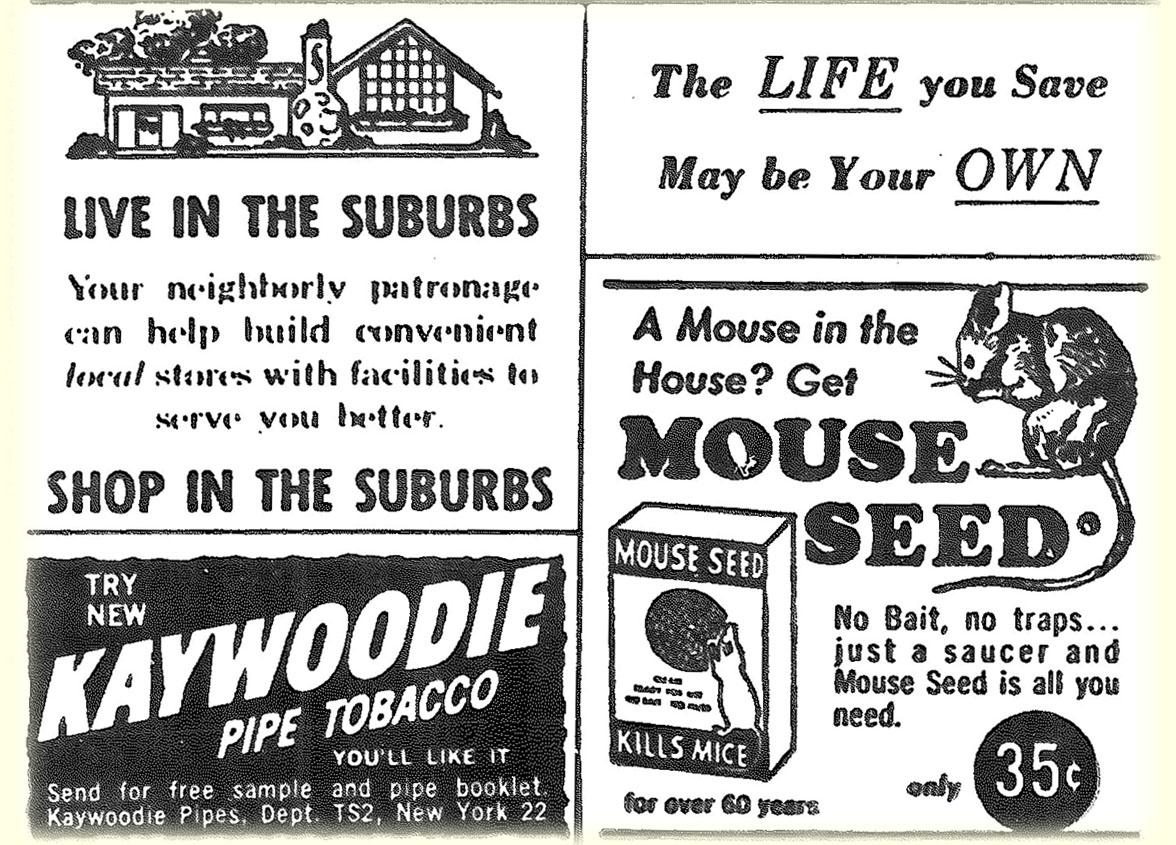 1963 ad from an old Sylvania newspaper