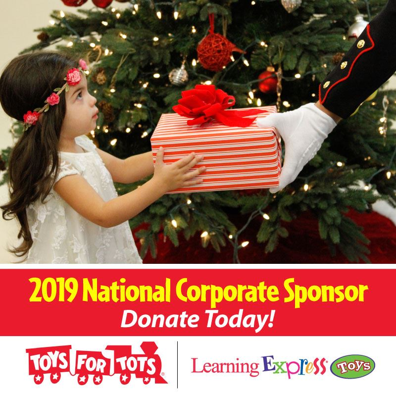 Learning Express is a Toys for Tots Donation site