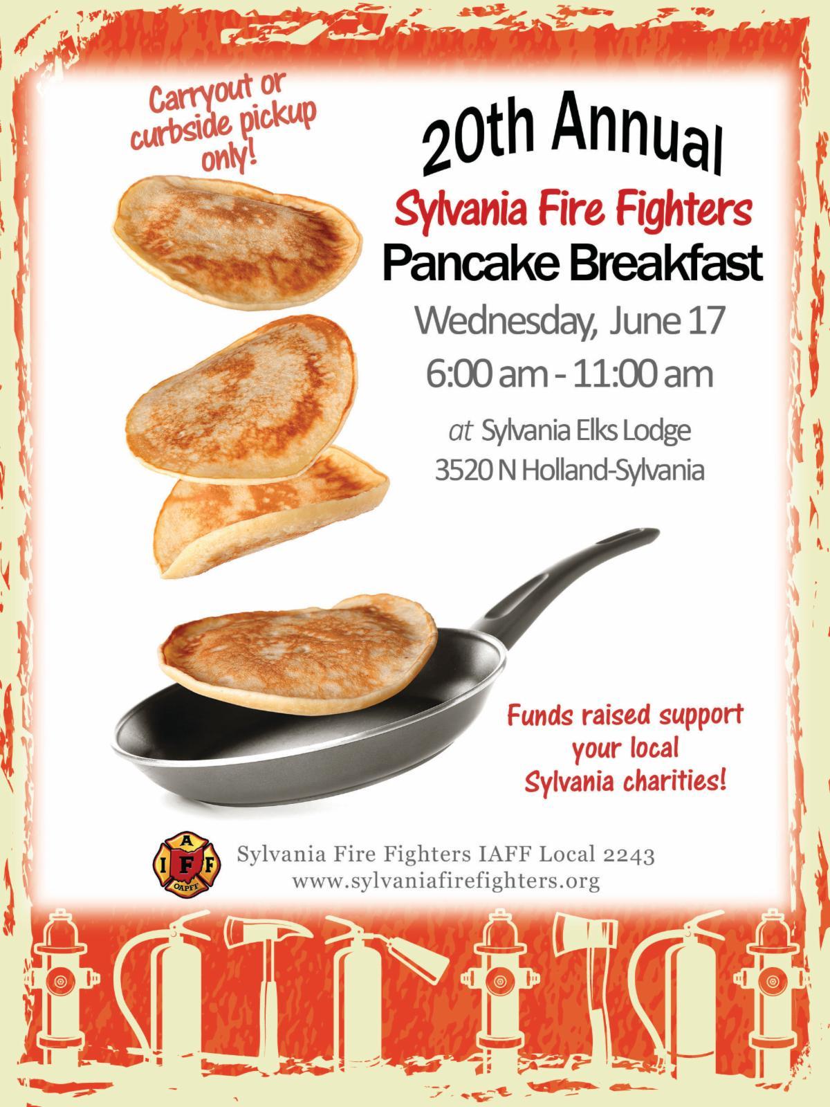 firefighters pancake breakfast