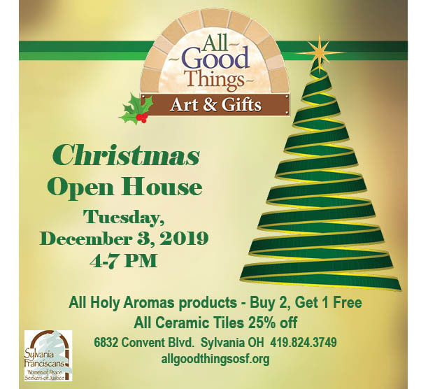 All Good Things Open House Dec 2019