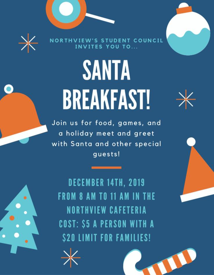 Breakfast with Santa at Sylvania Northview
