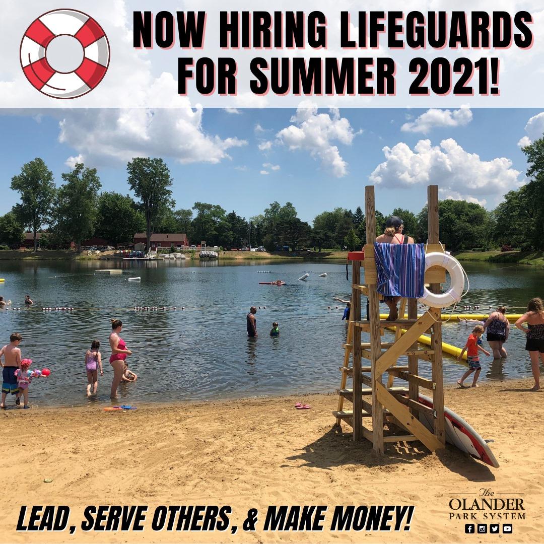 Olander hiring for summer