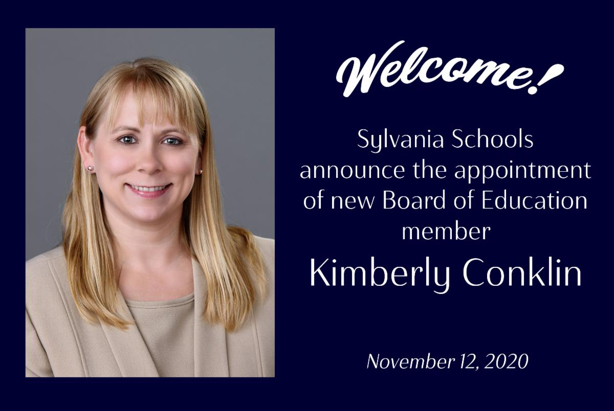 New Sylvania School Board Member