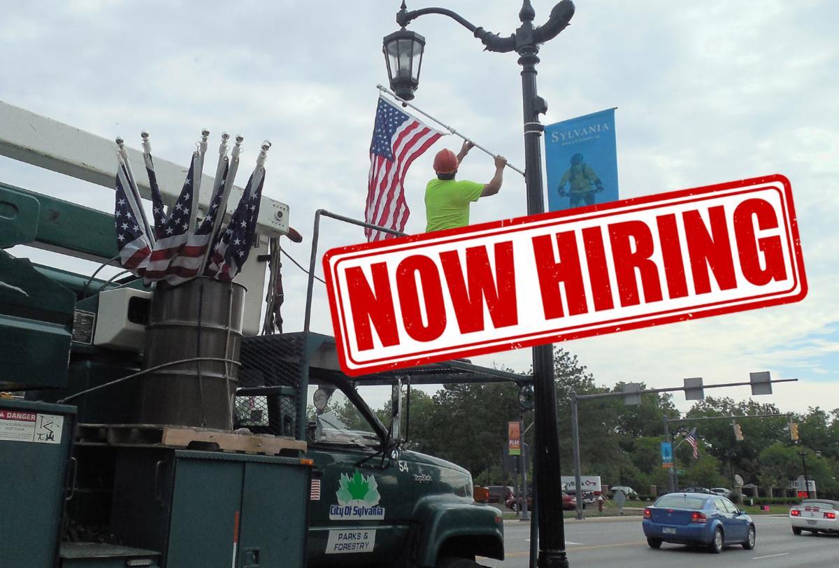 City of Sylvania is now hiring