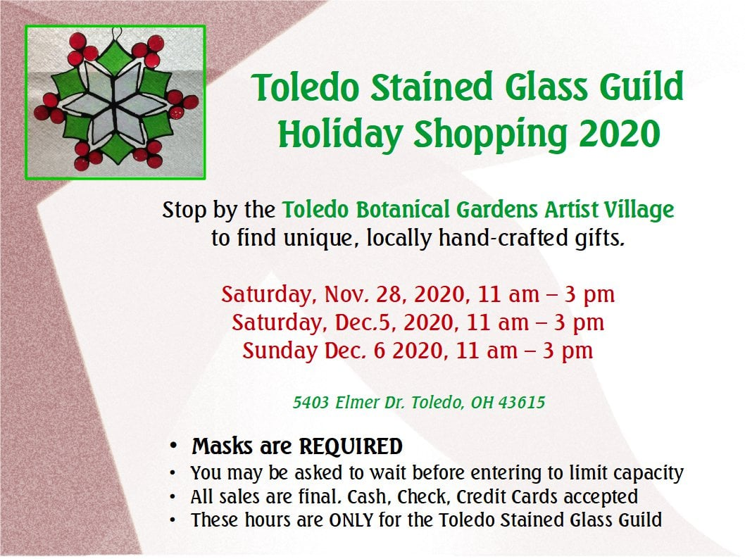 Stained Glass Guild Holiday Shopping