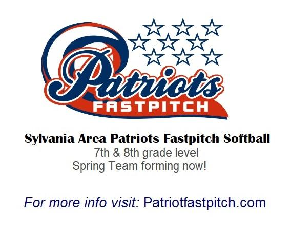 Patriots Fast Pitch Softball spring team forming now