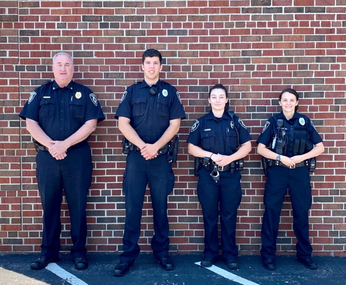 Welcome new township police officers