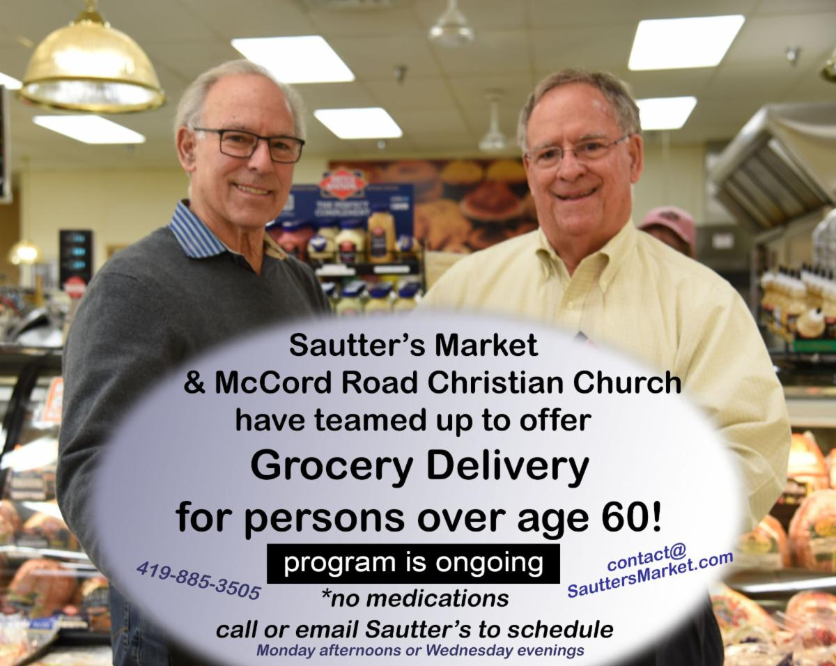 Sautter's Market delivery