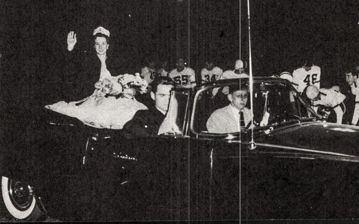 1956 Burnham Homecoming Queen Sherry Postlewait-Fanning