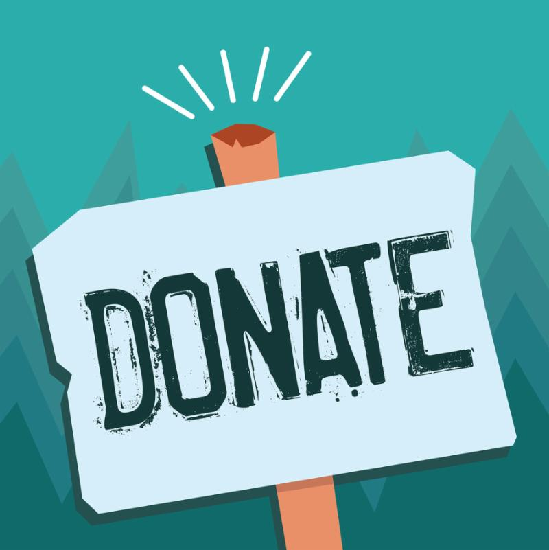 Conceptual hand writing showing Donate. Business photo showcasing give money or goods for good cause for example to charity or people