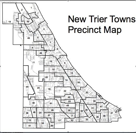 New Trier Twp. Map