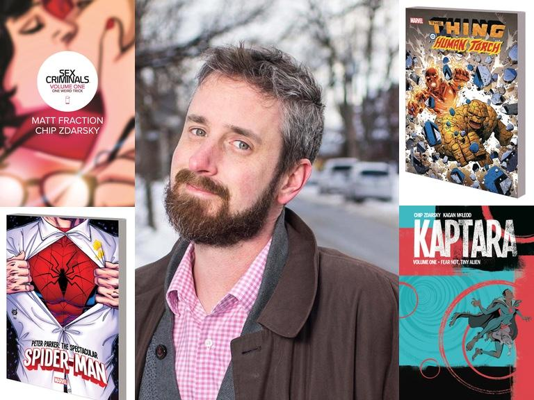 Feb 8, 9 Chip Zdarsky; Feb 13 Tom King at Third Eye Comics