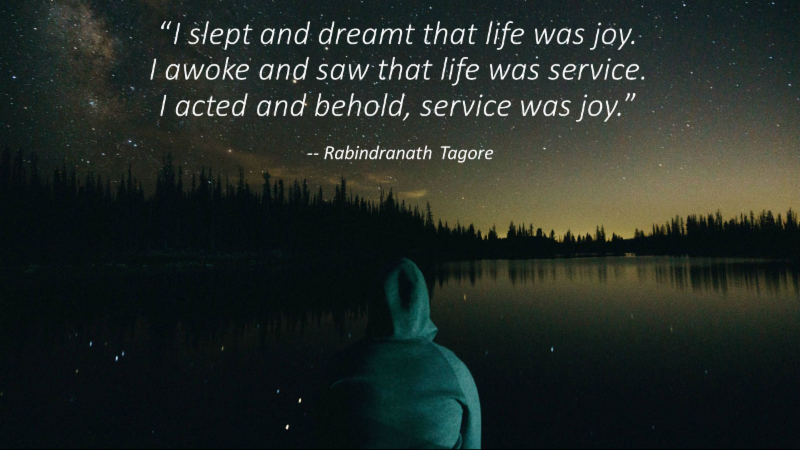 The Joy of Service