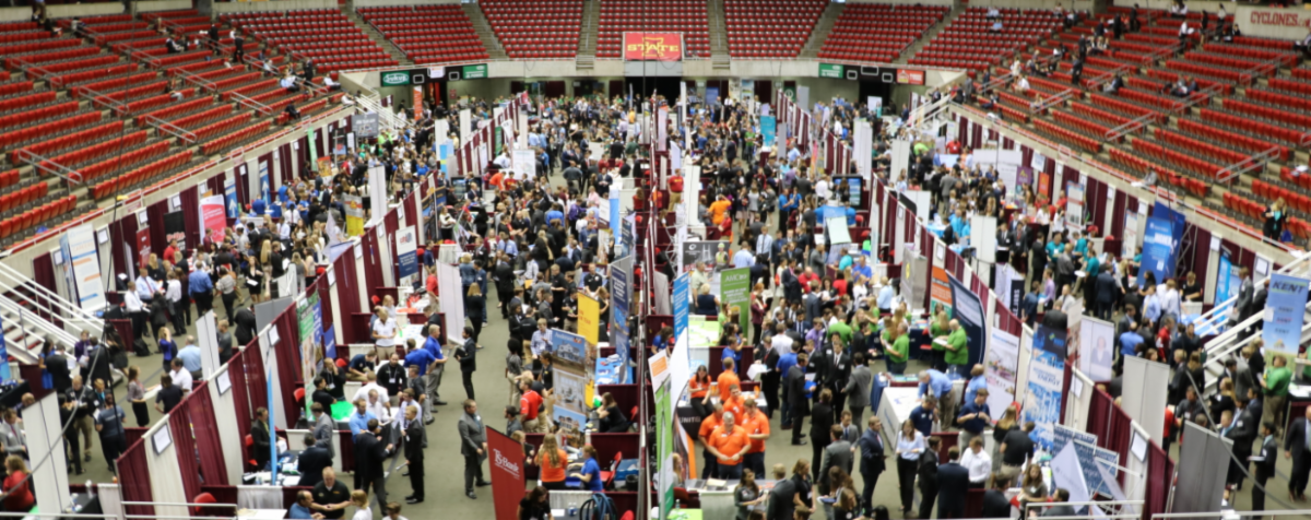 Business, Industry & Technology career fair at Hilton Coliseum