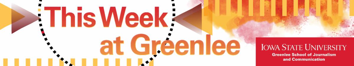 This Week at Greenlee header
