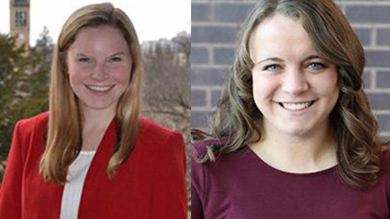 headshots of Brooke Almasi on left and Emily Barske on right.