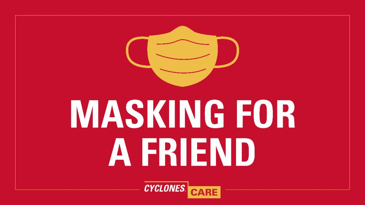 Masking For A Friend graphic
