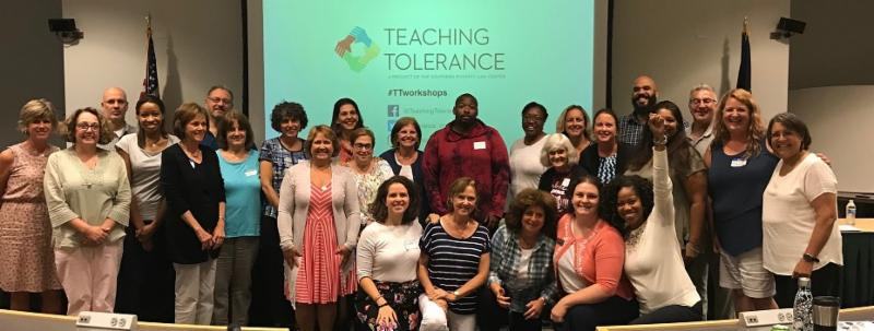 teaching tolerance group photo