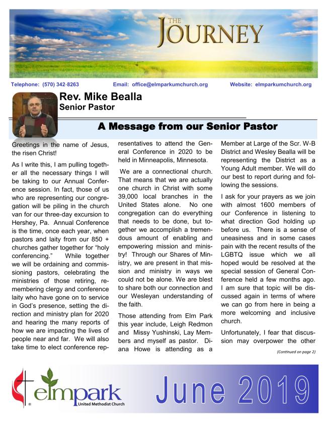 The Journey - Newsletter