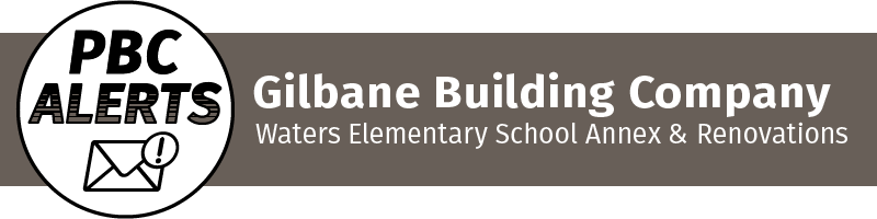 Gilbane Building Comany: Waters Elementary School Annex & Renovations